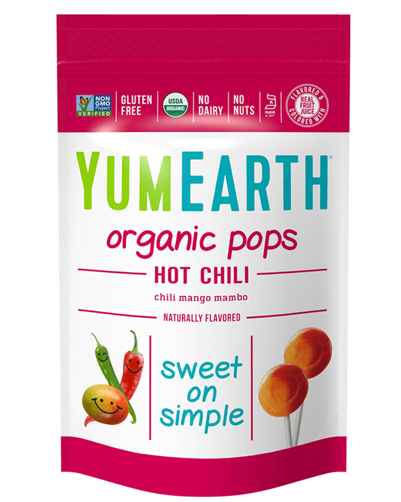 YumEarth Hot Chili Pops 3oz