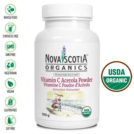 Nova Scotia Vitamin C Acerola Powder 100g