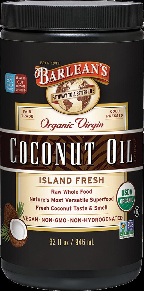 Barlean's 有机初榨椰子油 32oz