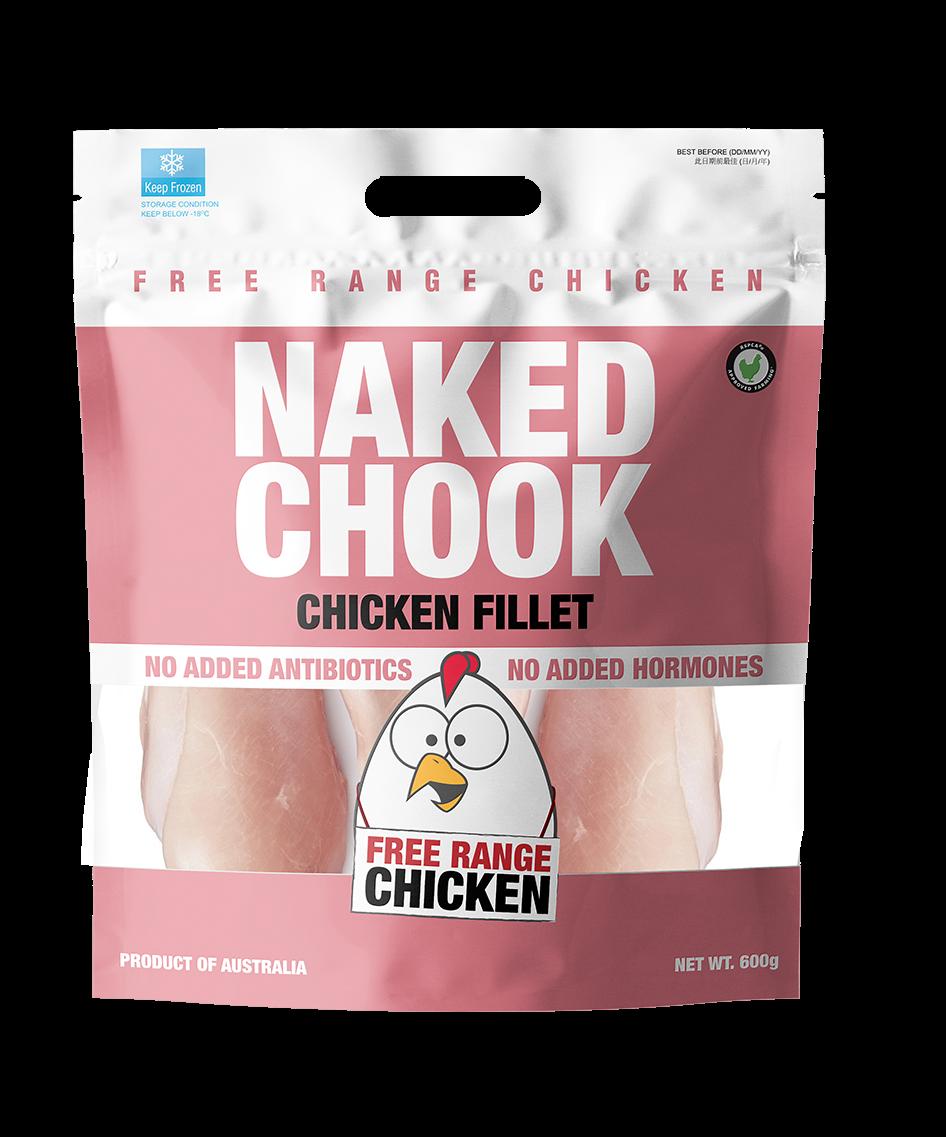 Naked Chook Boneless Skinless chicken Fillet