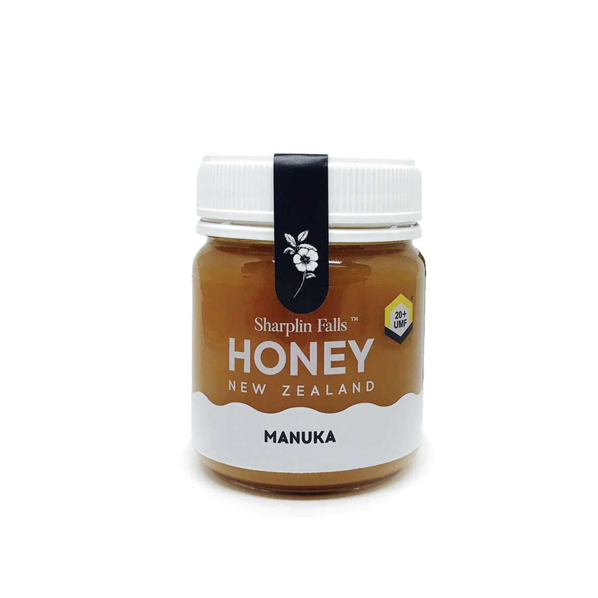 Sharplin Falls Manuka Honey UMF20+ 250gm