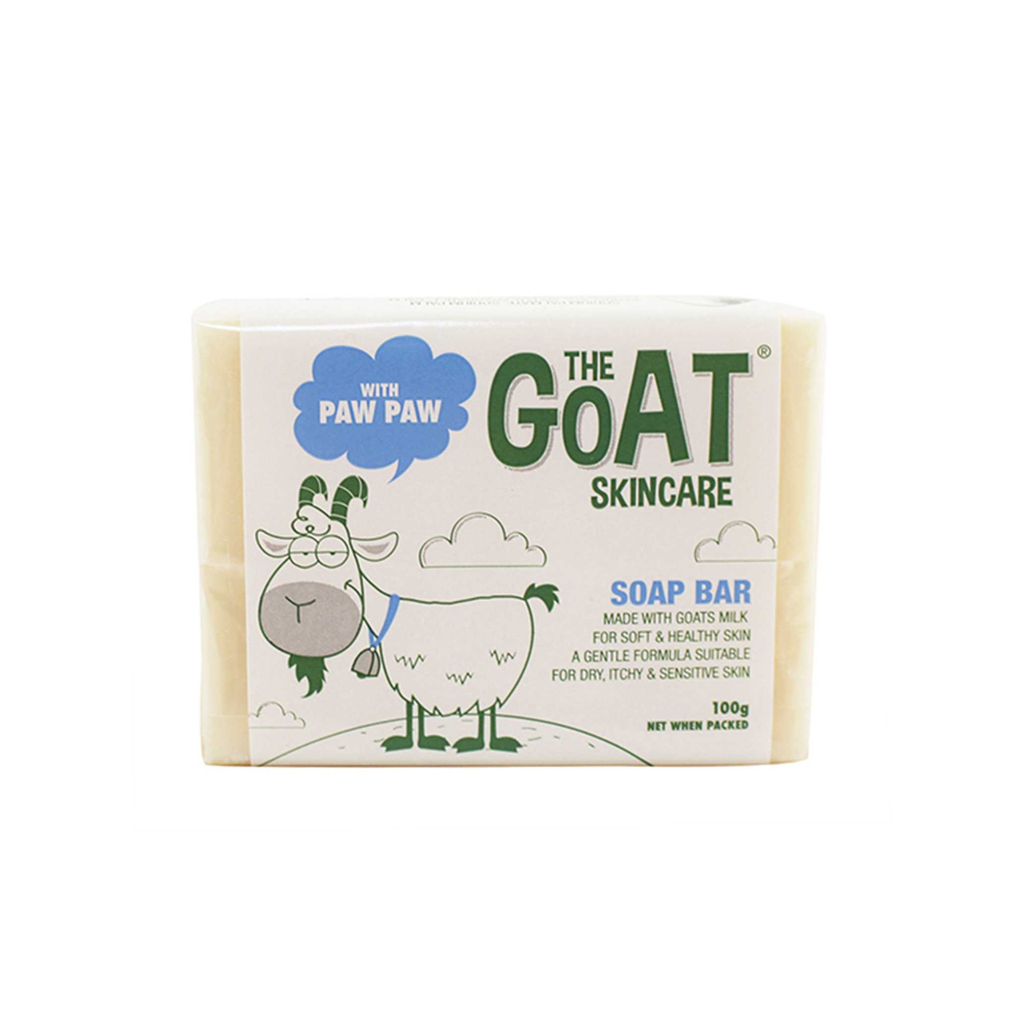 The Goat Skincare Soap Bar 羊奶木瓜香皂
