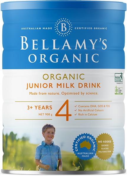 Bellamy's Organic Step 4 Junior Milk Drink - Suitable from 3+ years