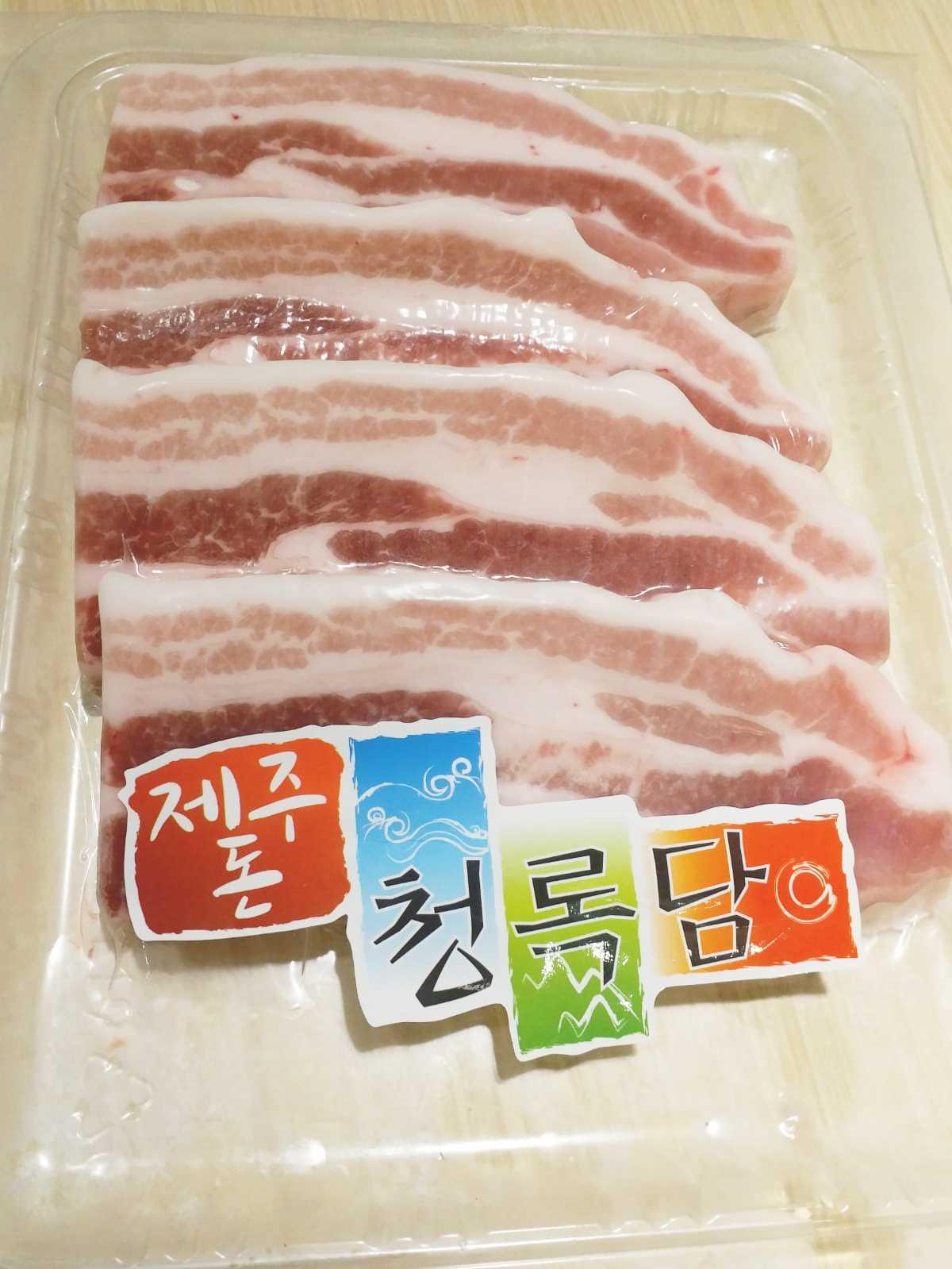 「濟洲豚」天然豬腩 Jeju Pork