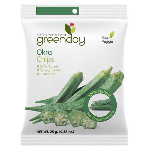 Greenday Okra Chips