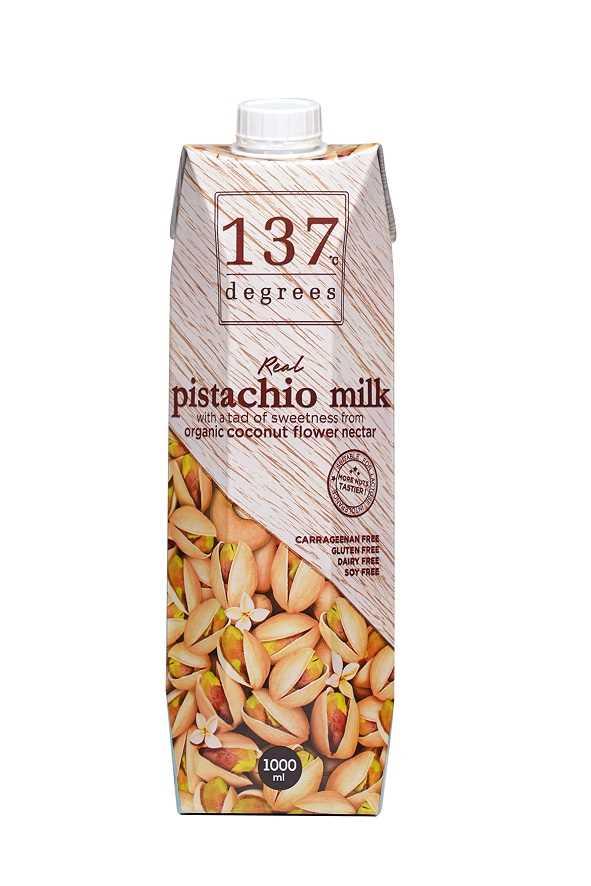 137°c Degrees 原味開心果奶