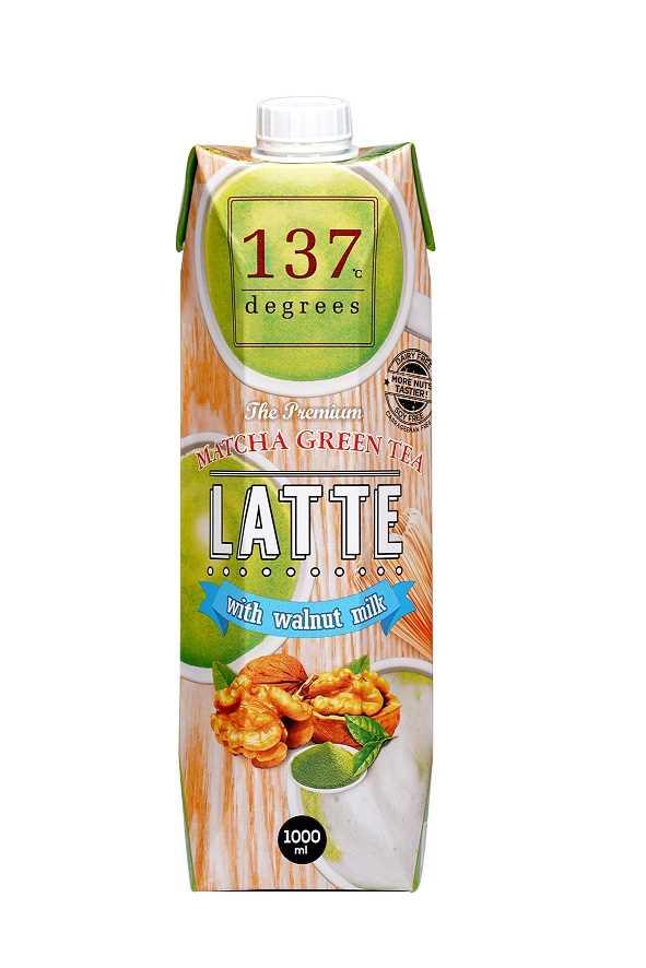 137°c Degrees Walnut Milk with Matcha Green Tea