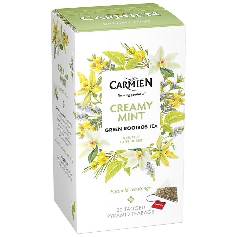 Carmien Pyramid 香草薄荷南非博士绿茶茶包20'S(1X50G)