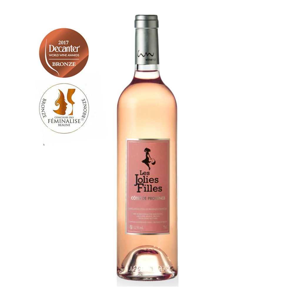 Les Jolies Filles Rose AOC Cotes de Provence 2014 (750ml)