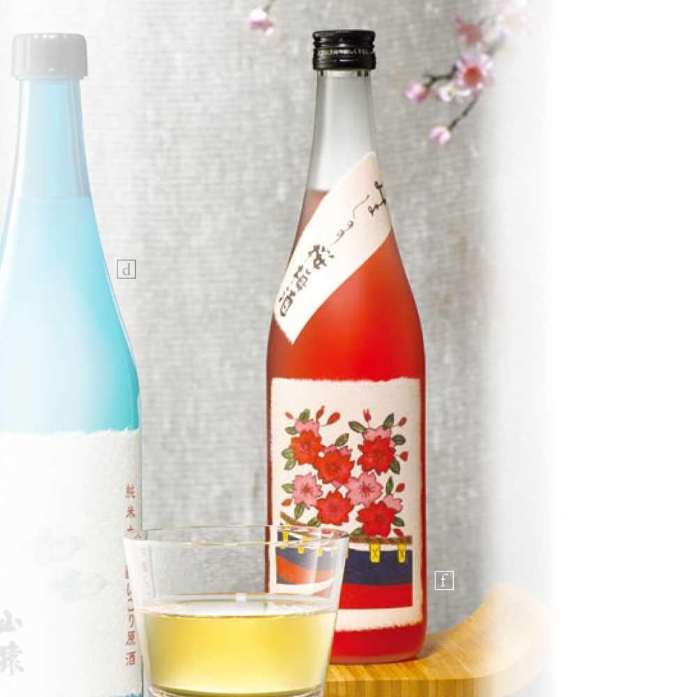 八木吉野櫻梅酒 (720ml)