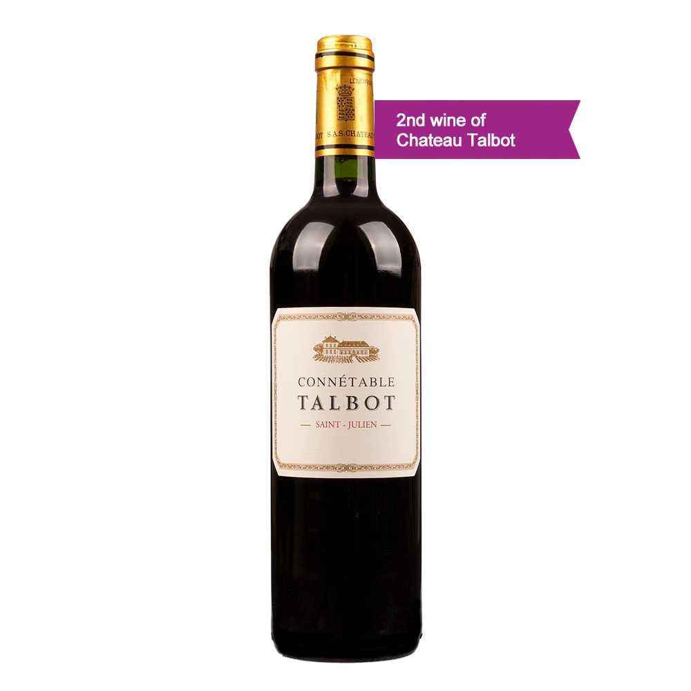 Connetable de Talbot Saint-Julien AOC 2016 (2nd label of Chateau Talbot) (750ml)