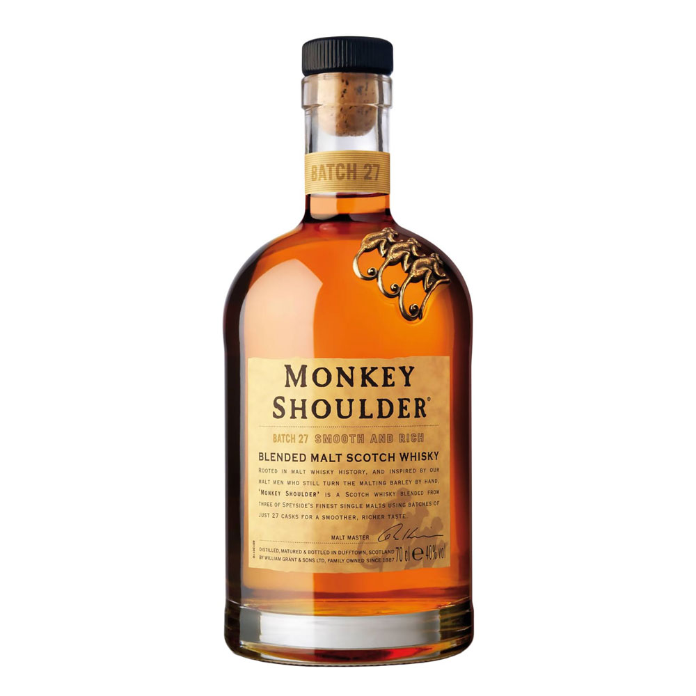Monkey Shoulder Blended Malt Scotch Whisky (700ml)