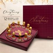 威士忌試飲裝轉盤禮盒 (12支裝)