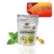 紐西蘭WAITEMATA 麥盧卡蜂蜜UMF10+檸檬薄荷潤喉糖 (12粒)