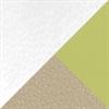 Latte (9407) + Ivory (9401) + Green Apple (9434)