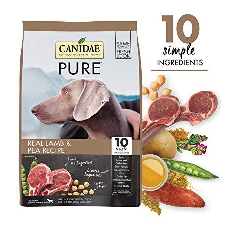 Canidae  Pure Elements 無穀物多元配方(新鮮羊肉) 24lbs