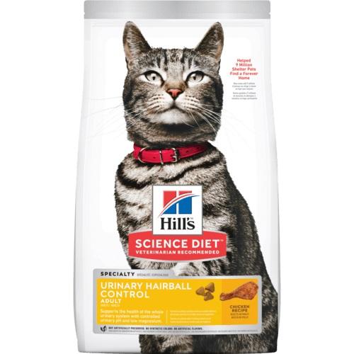 Hill's 成貓泌尿道毛球控制乾糧
