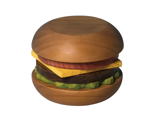 Hamburger Coaster Stax