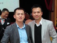 武漢體育大學副院長黃志劍教授, 對香港發展運動心理學表示雀躍